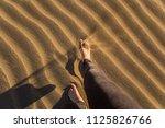 gran canaria  maspalomas dunes  ...   Shutterstock . vector #1125826766