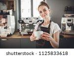 portrait of professional... | Shutterstock . vector #1125833618