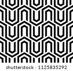 abstract geometric pattern with ... | Shutterstock .eps vector #1125835292