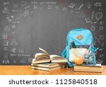 back to school concept with... | Shutterstock . vector #1125840518