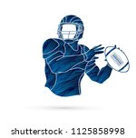 american football player action ...