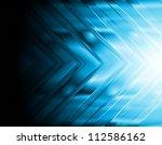 dark blue hi tech background....   Shutterstock .eps vector #112586162