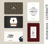 set of 5 detailed business...   Shutterstock .eps vector #112586675