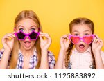 wow omg unbelievable  close up... | Shutterstock . vector #1125883892