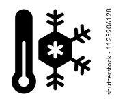 freezing cold temprature | Shutterstock .eps vector #1125906128