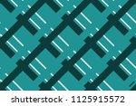repetitive geometric pattern... | Shutterstock .eps vector #1125915572