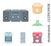 types of household appliances...   Shutterstock .eps vector #1125919928