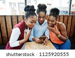three african american girls... | Shutterstock . vector #1125920555