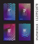 set of vector different style... | Shutterstock .eps vector #1125921878