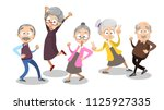 vector cartoon illustration of... | Shutterstock .eps vector #1125927335