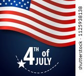 happy independence day card... | Shutterstock .eps vector #1125938138