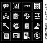 set of 16 icons such as dollar  ... | Shutterstock .eps vector #1125942575