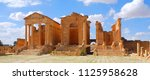 dougga tunisia 10 23 2017 ... | Shutterstock . vector #1125958628