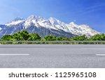 Plateau High Mountains And Sno...