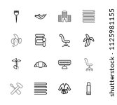nobody icon. collection of 16... | Shutterstock .eps vector #1125981155