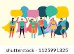 vector illustrations in flat... | Shutterstock .eps vector #1125991325