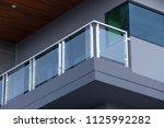 modern architecture terrace...   Shutterstock . vector #1125992282
