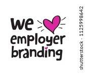 employer branding team   Shutterstock .eps vector #1125998642