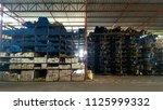 building materials warehouse. | Shutterstock . vector #1125999332