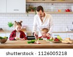 photo of father with daughter... | Shutterstock . vector #1126005218