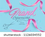 beautiful party background with ... | Shutterstock .eps vector #1126034552