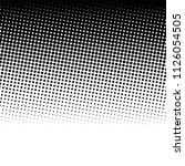 halftone pattern vector | Shutterstock .eps vector #1126054505
