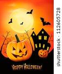 Halloween Background. Vector.