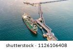 oil tanker  gas tanker in the... | Shutterstock . vector #1126106408