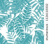 tropical seamless pattern with... | Shutterstock .eps vector #1126110332