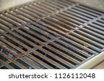 grill grate close up clean... | Shutterstock . vector #1126112048