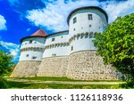 scenic view at old castle in... | Shutterstock . vector #1126118936
