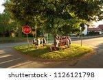 beilngries   biberbach  ... | Shutterstock . vector #1126121798