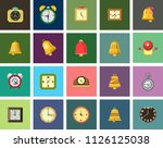 vector alarm illustrations... | Shutterstock .eps vector #1126125038