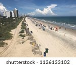 view of myrtle beach south... | Shutterstock . vector #1126133102