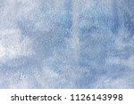 blue washed painted textured... | Shutterstock . vector #1126143998