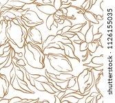 vector seamless pattern of... | Shutterstock .eps vector #1126155035