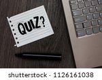 word writing text quiz question.... | Shutterstock . vector #1126161038