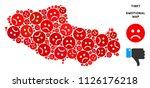 emotion tibet chinese territory ... | Shutterstock .eps vector #1126176218