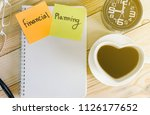 financial planning concept... | Shutterstock . vector #1126177652