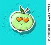 vector illustration. green...   Shutterstock .eps vector #1126179965