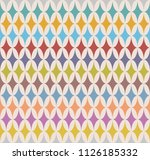 circus retro texture  with... | Shutterstock .eps vector #1126185332