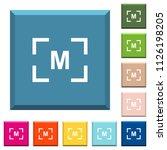 camera manual settings mode... | Shutterstock .eps vector #1126198205