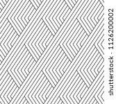 vector seamless texture. modern ... | Shutterstock .eps vector #1126200002
