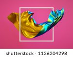 3d render  abstract fashion... | Shutterstock . vector #1126204298