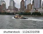 june 27  2018  hudson river ...   Shutterstock . vector #1126231058