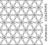 seamless black   white...   Shutterstock .eps vector #1126239392