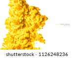 closeup of a colorful yellow...   Shutterstock . vector #1126248236