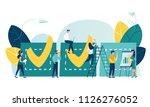 vector illustration.... | Shutterstock .eps vector #1126276052
