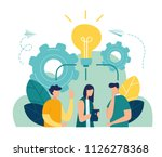 vector illustration  online... | Shutterstock .eps vector #1126278368
