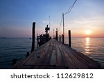 Wooden Bridge To The Sea
